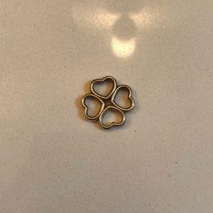Tiffany & Co Heart Four Leaf Clover Pendant